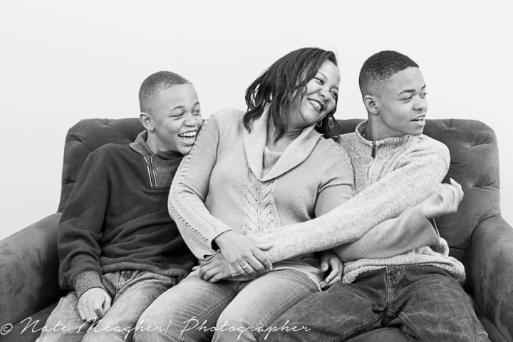 Traci and Her Boys |  Jersey City, NJ Family Portrait Photography
