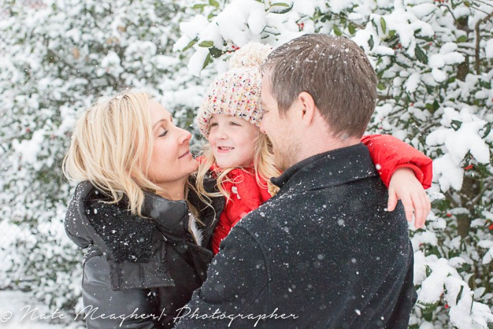 Sydney's Winter Wonderland | Jersey City, NJ Family Portrait Photography