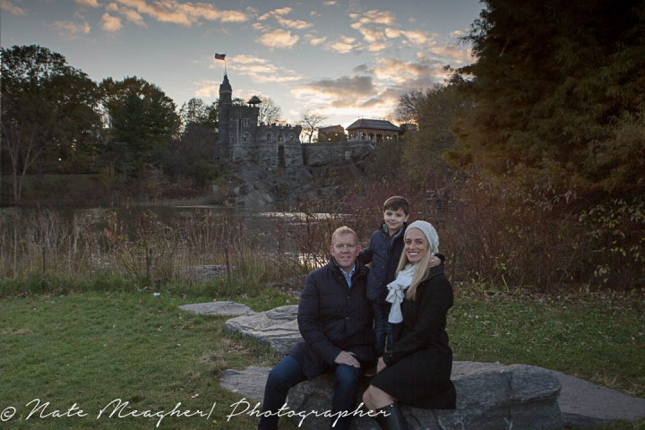 Ethan and his Central Park Family Session |  New York NY Family Portrait Photography